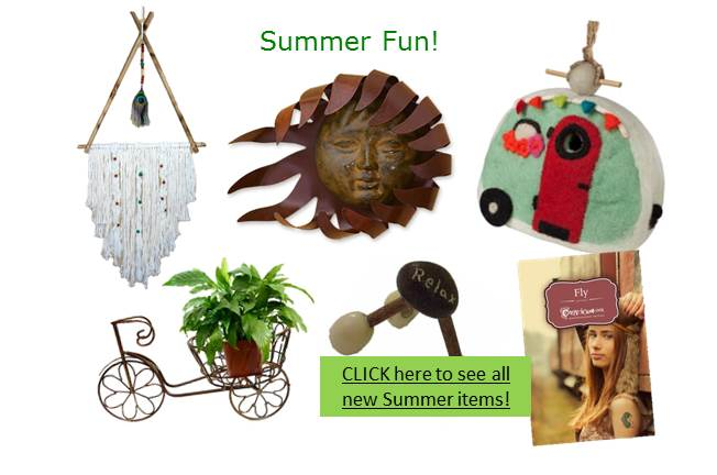 New Items for Summer!